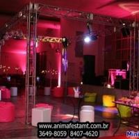 mini boate pista de dança e decoraçao completa  www.animafestamt.com.br 3649-8059
