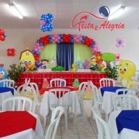 Salão Decorado - Galinha Pintadinha