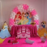 Salão Decorado - Princesas