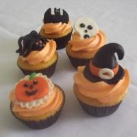 cup cake tema halloween