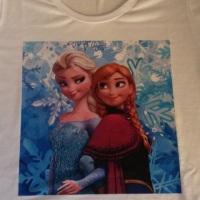 camisetas personalizadas frozen, camisetas personalizadas para meninas, camisetas personalizadas par