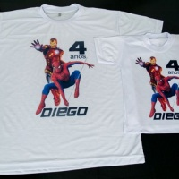 camisetas personalizadas super herois, camisetas personalizadas infantil em são caetano do sul, scsu