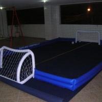 campo futebol inflável c/ carpete