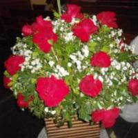 arranjo de flor natural