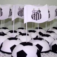 Decoração para festa com tema Futebol.