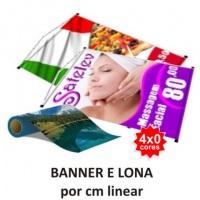 Banner e Lona c/ Impressão Colorida