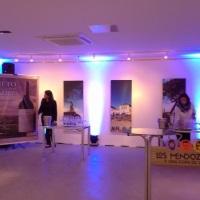 Iluminação decorativa e locação de mobiliário - Evento Dia do Malbec