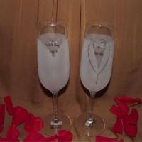 Taças Personalizadas Modelo Cristal Carpe Diem da Nadir Figueiredo