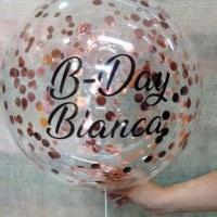 Balão Bubble Personalizado! Personalize o seu conosco, chama no whats. 84 98770.3402