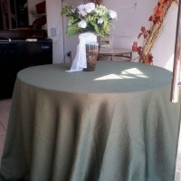 toalha de cetim amassado