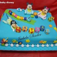 Bolo Baby Disney