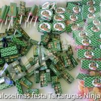Guloseimas personalizadas Tartarugas Ninja podem ser confeccionadas em qualquer tema