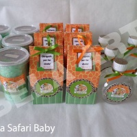 Personalizados Safari Baby