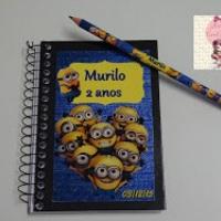 Kit caderneta....as crianças  adoram!!!