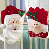 Capa para cadeira natalina.Pronta entrega somente a mamae noel .Preço referente a 1 capa.  Tamanho: