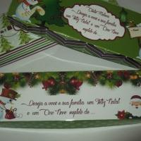 Caixas personalizadas para o Natal e Ano Novo, dê lindas lembranças para pessoas importantes na sua