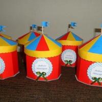 Convite de Aniversário Tenda de Circo