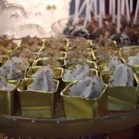 Cachepo de Chocolate Dourada( totalmente comestivel)