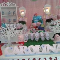 decoração provençal peppa pig