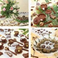 Mesa de Chocolate- Chá de Panela