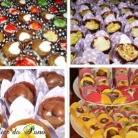 Tortinhas de Chocolate- Recheios Variados