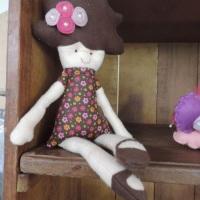 Boneca Fifi - em feltro