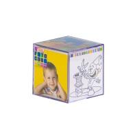 Cubo De Fotos Acrílico Pequeno Mini Cubo 6,5x6,5 - Uma ideia bacana para você utilizar o cubo de f