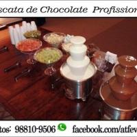 Cascata de Chocolate - Potinhos