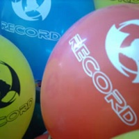 Balões personalizados Rede Record