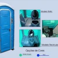 Modelos de banheiros quimicos