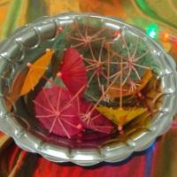 Sombrinhas para decorar os coqueteis