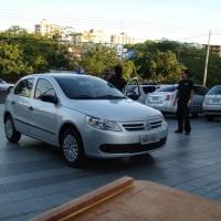 Recepção dos veículos