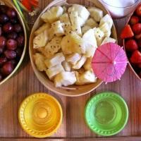Montagem simples e elegante. Frutas de Primeira Qualidade