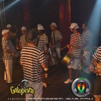 Bateria escola de samba  no galopeira