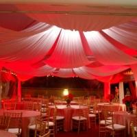 Tendas decoradas by Bem Na Festa Eventos.