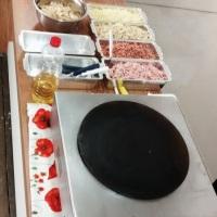 Nosso buffet de crepes franceses é ideal para n corporativos, residenciais, festas de aniversário in