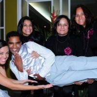 Equipe Betina e os Noivos Vivian e Danilo