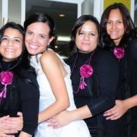 Equipe Betina e a Noiva Vivian