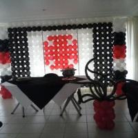 decoraçao com baloes