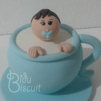 Topo de bolo: chá de bebê