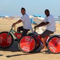 Tampão para Bike-Ligth personalizados para ações de Live Marketing.