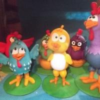 personagens da galinha pintadinha tamanho grande para decoraçao.