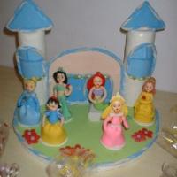 as princesas em biscuit