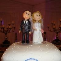 Topo de bolo - Casamentos