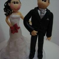 Casal personalizado estilo fofinho