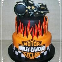 Bolo Moto Harley Davidson