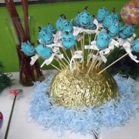 Cake Pops Personagens