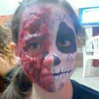 maquiagem hallowen