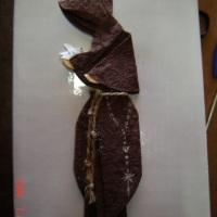 Marcador de páginas São Francisco em origami