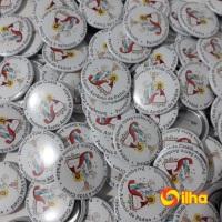 Botons Personalizados com impressão a laser de alta qualidade